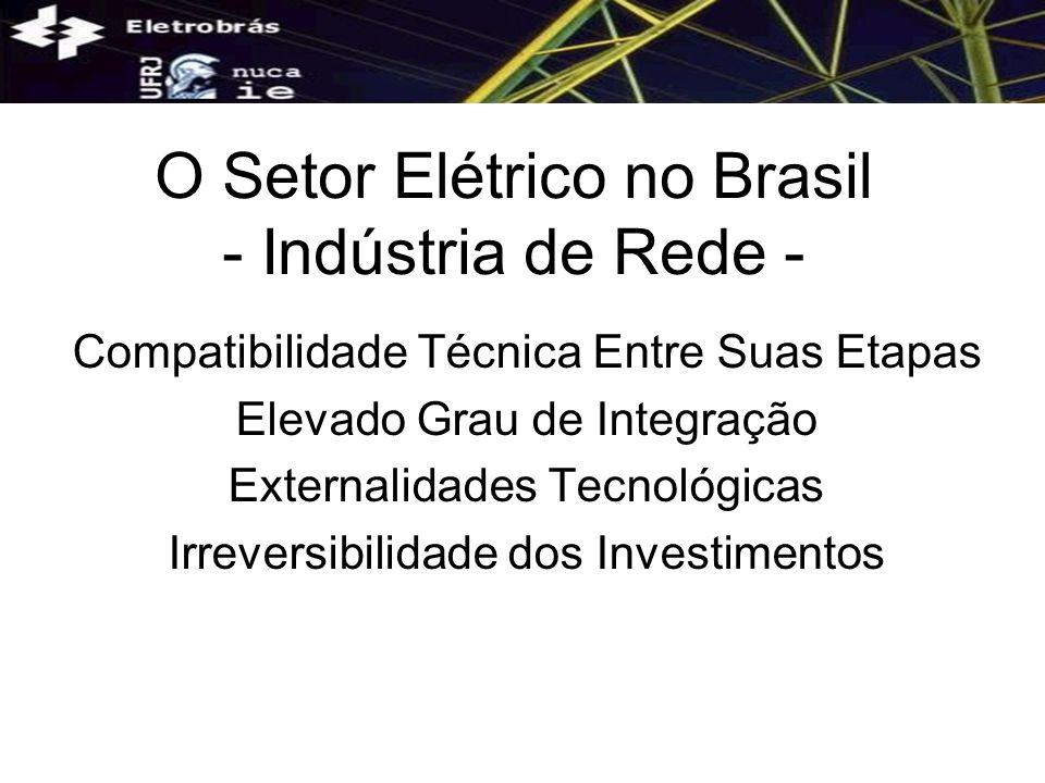 O Setor Elétrico no Brasil - Indústria de Rede -