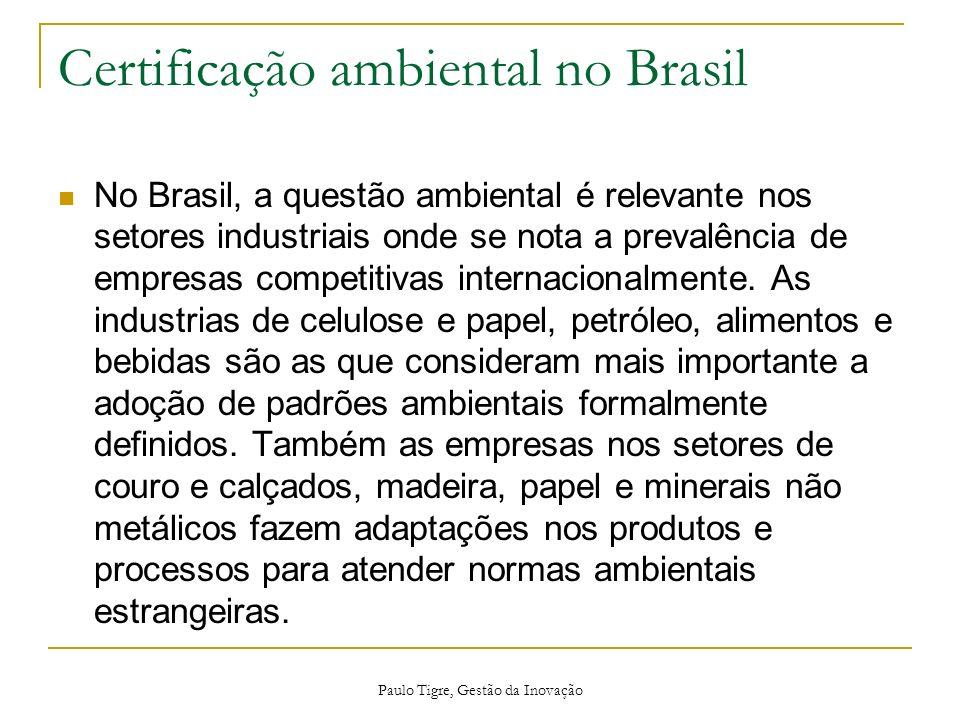 Certificação ambiental no Brasil