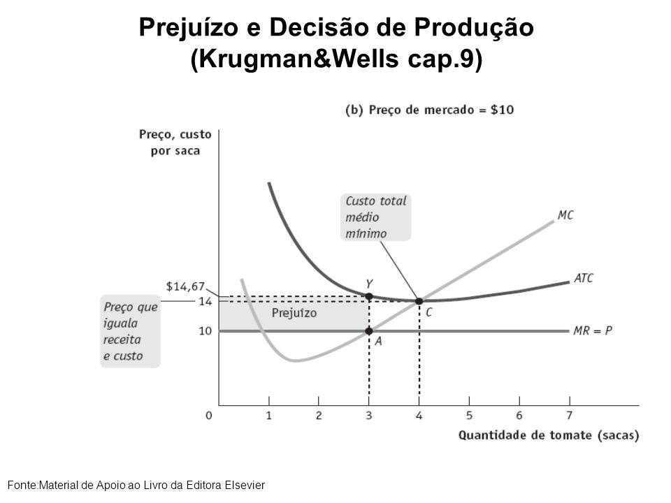 Prejuízo e Decisão de Produção (Krugman&Wells cap.9)