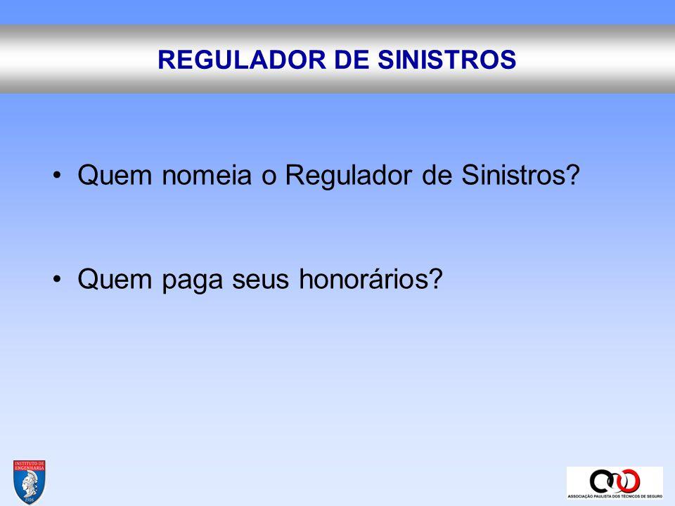REGULADOR DE SINISTROS
