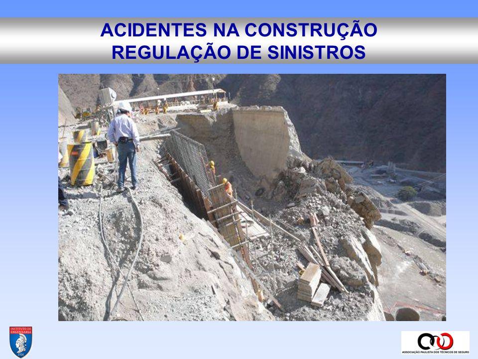 ACIDENTES NA CONSTRUÇÃO REGULAÇÃO DE SINISTROS