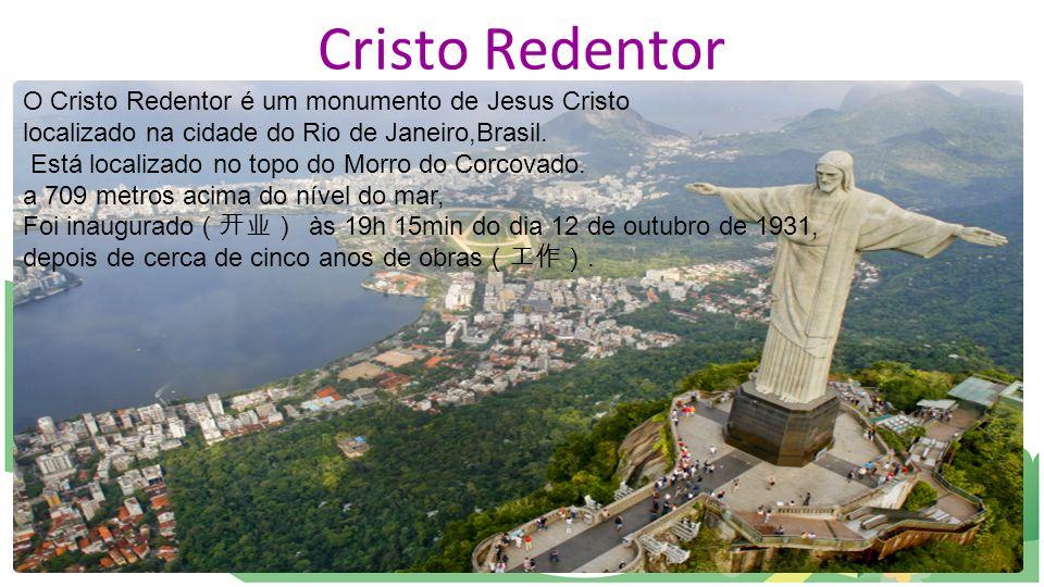 Cristo Redentor O Cristo Redentor é um monumento de Jesus Cristo