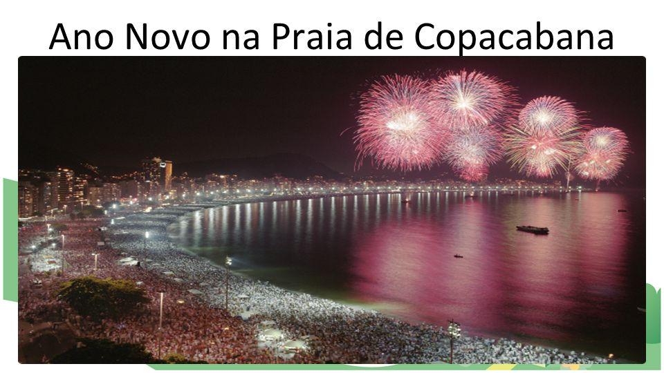 Ano Novo na Praia de Copacabana