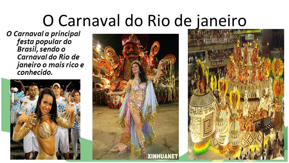 O Carnaval do Rio de janeiro