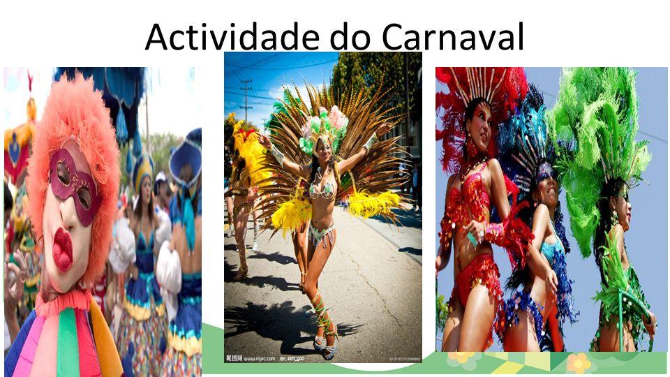 Actividade do Carnaval