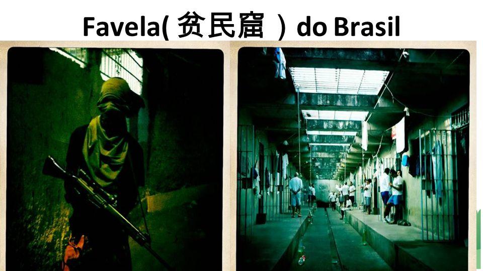 Favela( 贫民窟)do Brasil