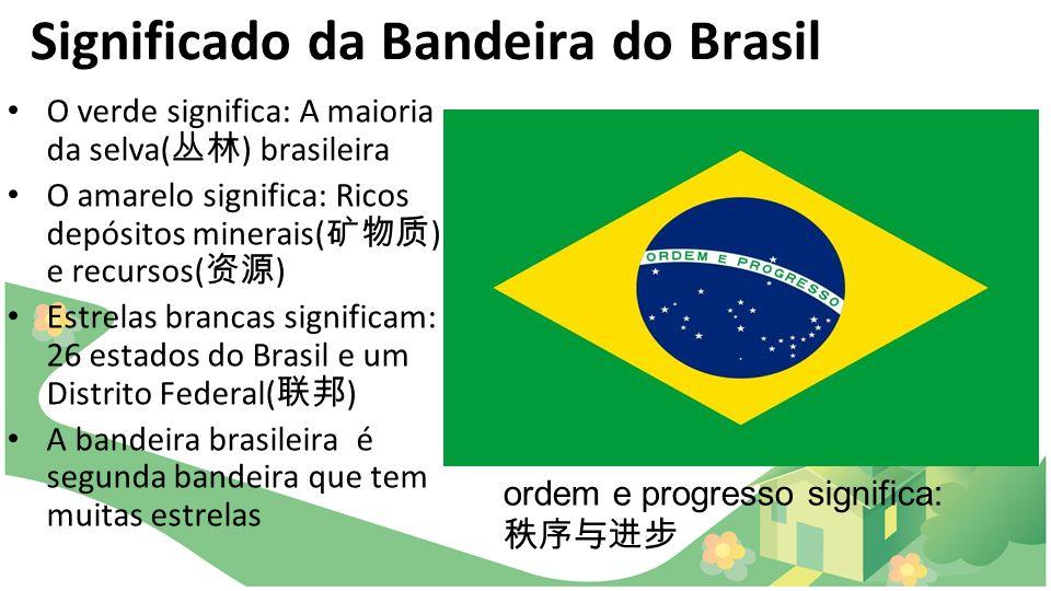 Significado da Bandeira do Brasil