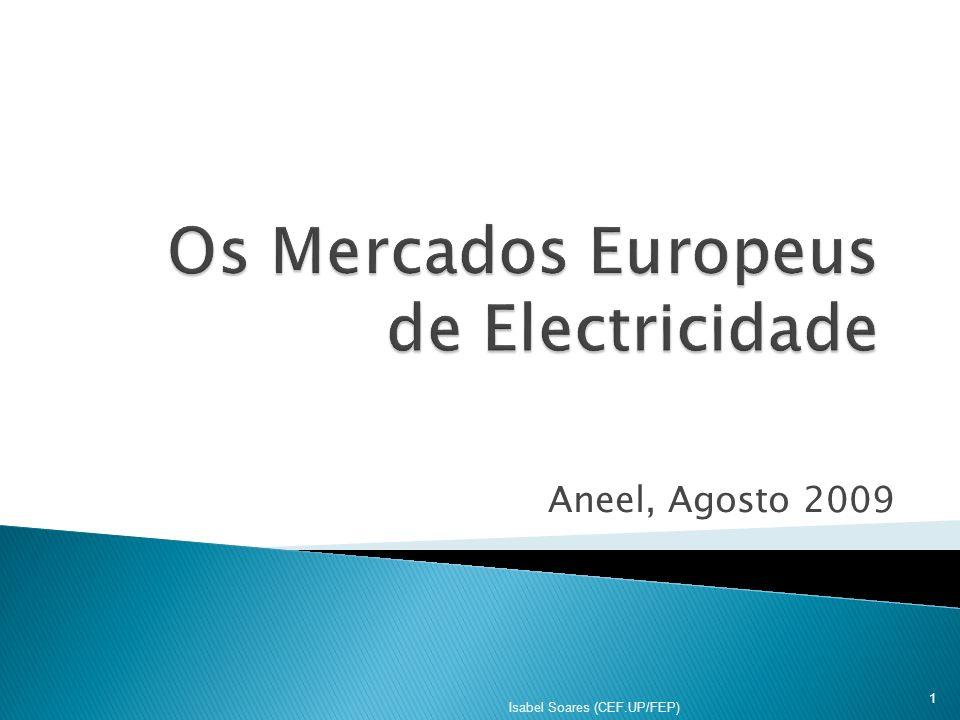 Os Mercados Europeus de Electricidade