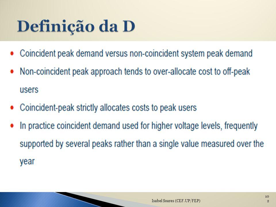 Definição da D Isabel Soares (CEF.UP/FEP)