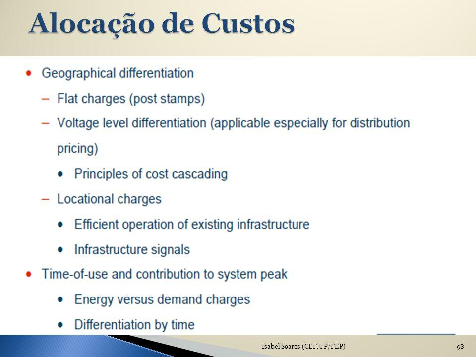 Alocação de Custos Isabel Soares (CEF.UP/FEP)