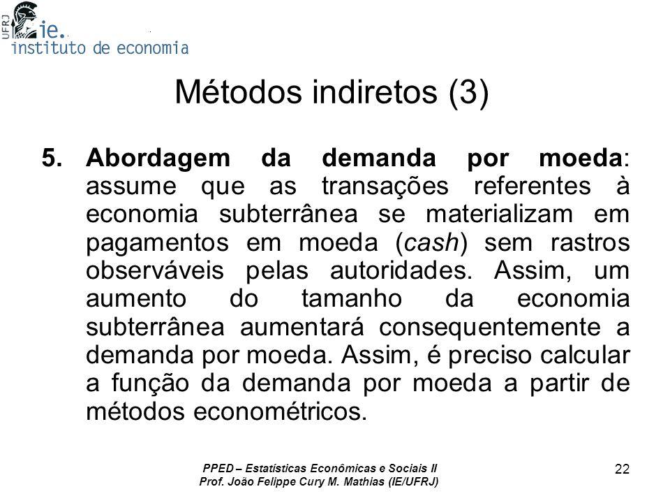 Métodos indiretos (3)