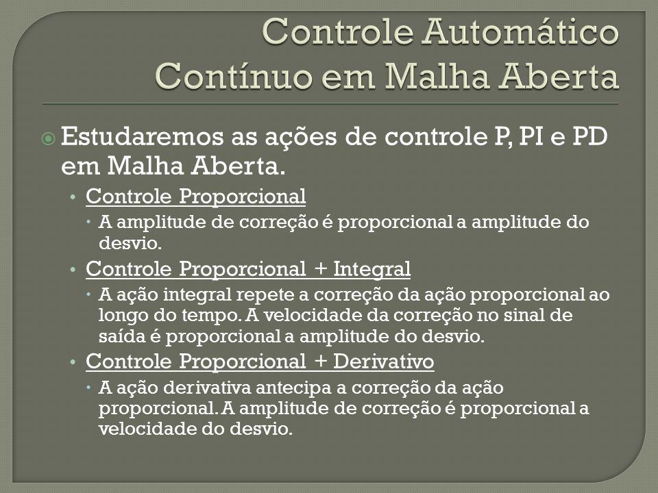 Controle Automático Contínuo em Malha Aberta