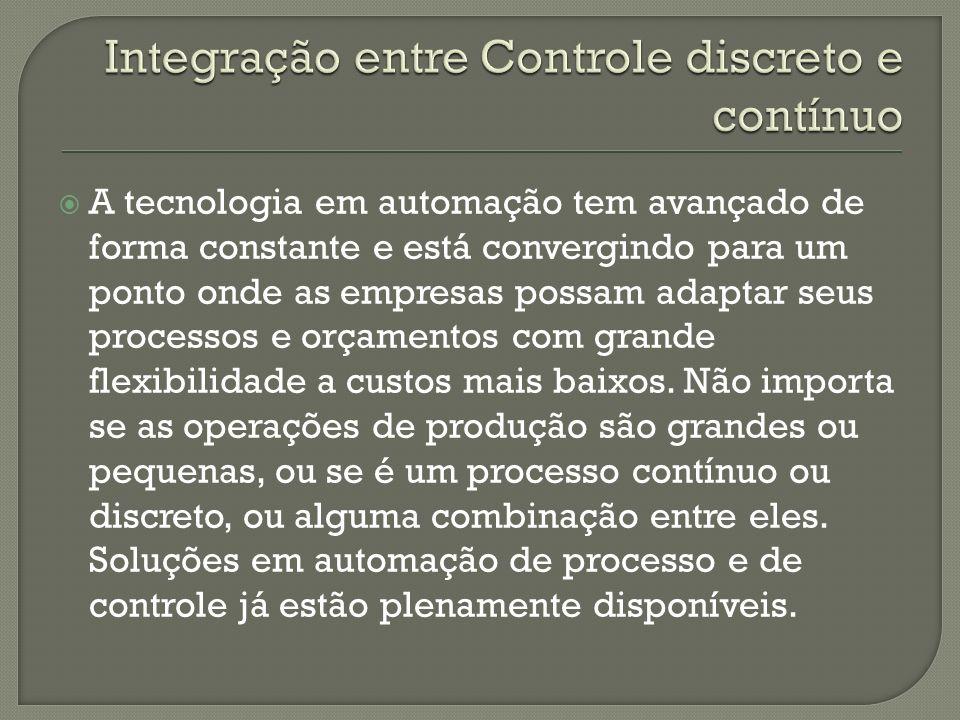 Integração entre Controle discreto e contínuo