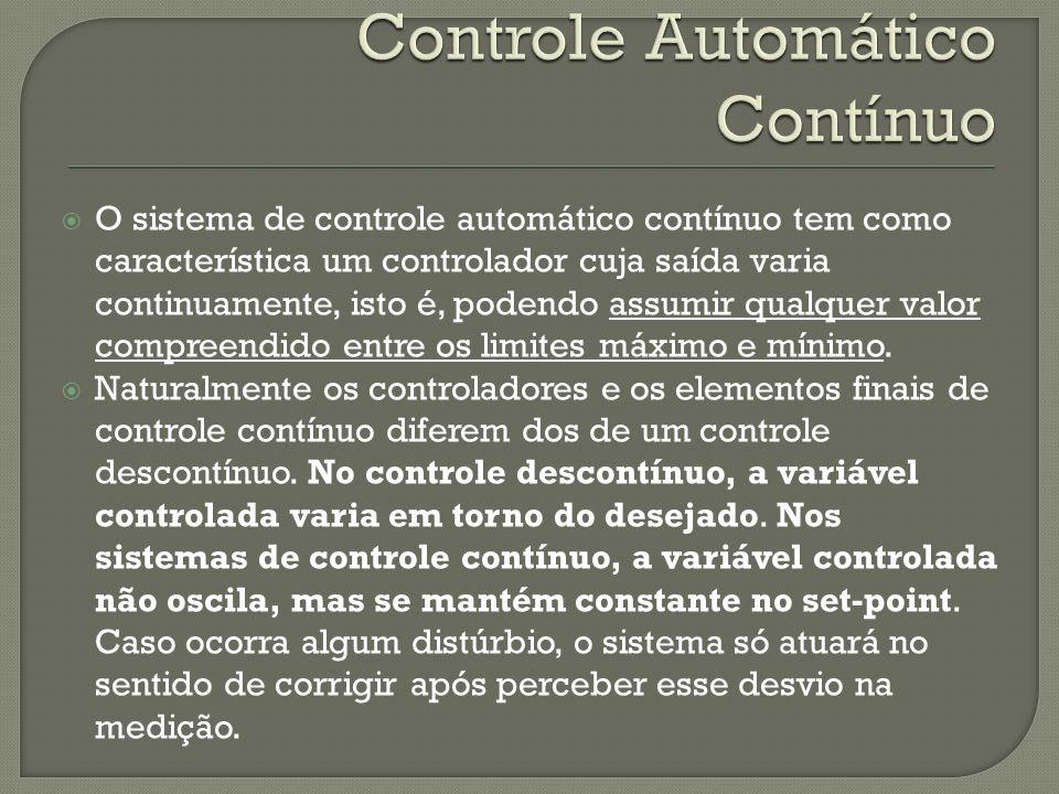 Controle Automático Contínuo