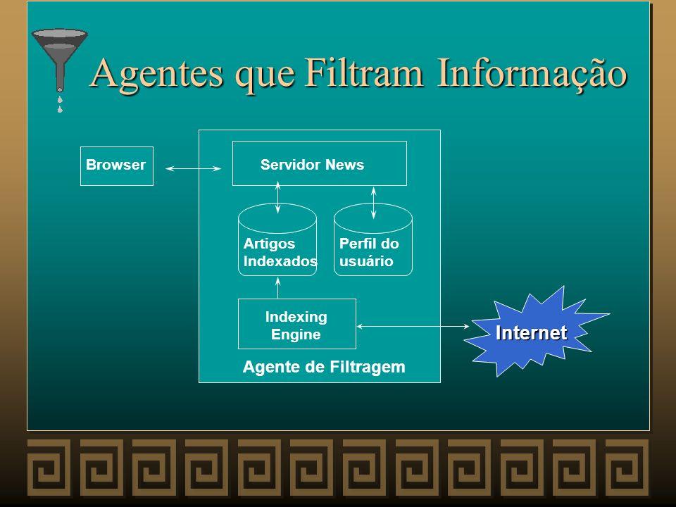 Agentes que Filtram Informação