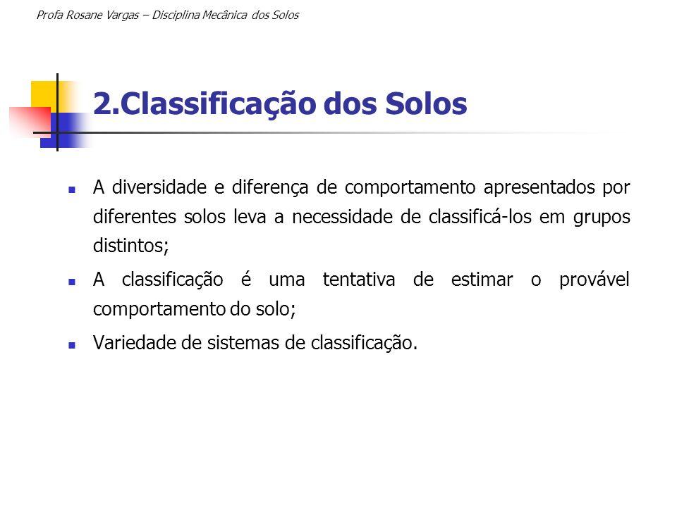 2.Classificação dos Solos