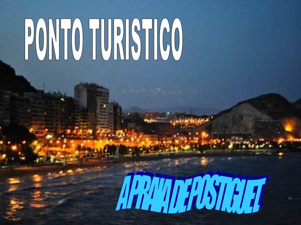 PONTO TURISTICO A PRAIA DE POSTIGUET.