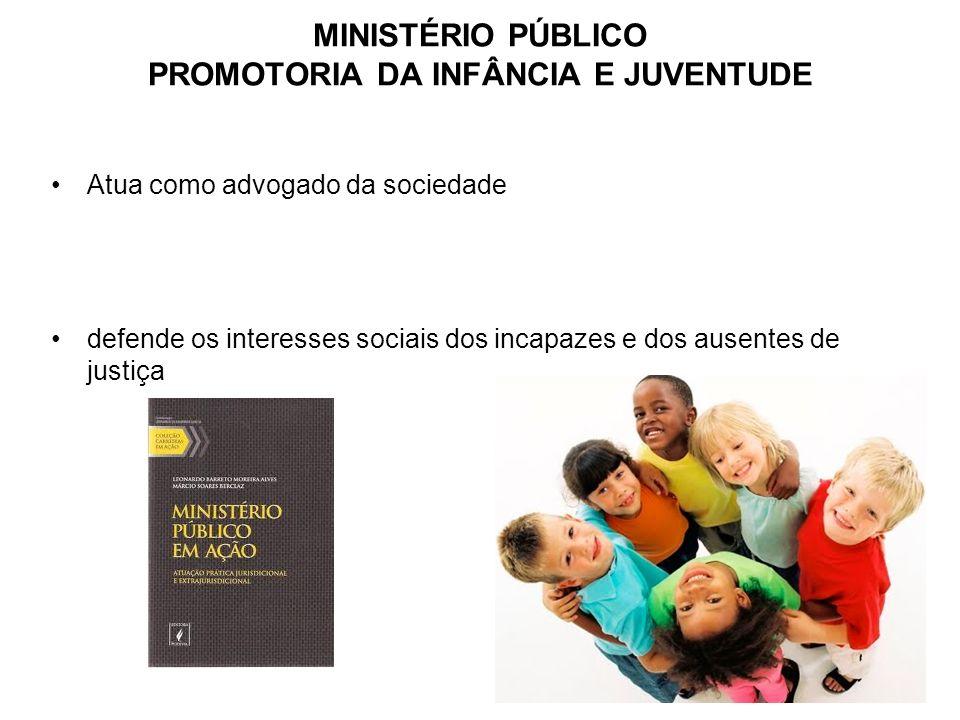 MINISTÉRIO PÚBLICO PROMOTORIA DA INFÂNCIA E JUVENTUDE