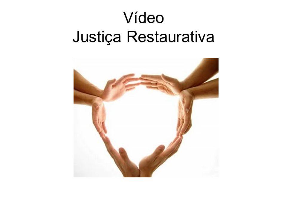 Vídeo Justiça Restaurativa