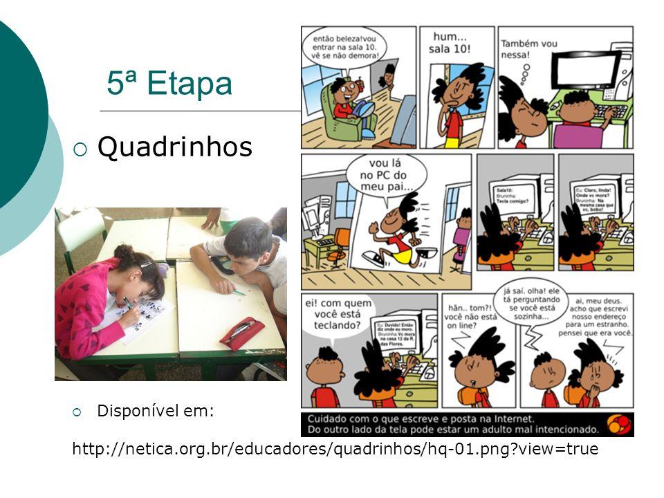 5ª Etapa Quadrinhos Disponível em: