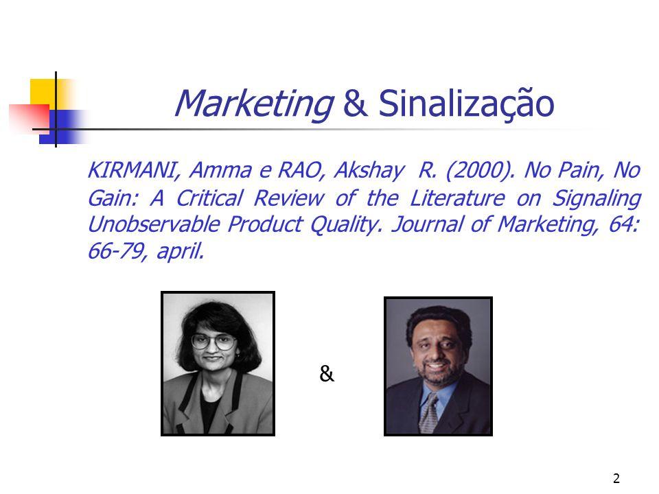 Marketing & Sinalização