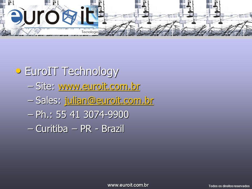 EuroIT Technology Site: www.euroit.com.br Sales: julian@euroit.com.br