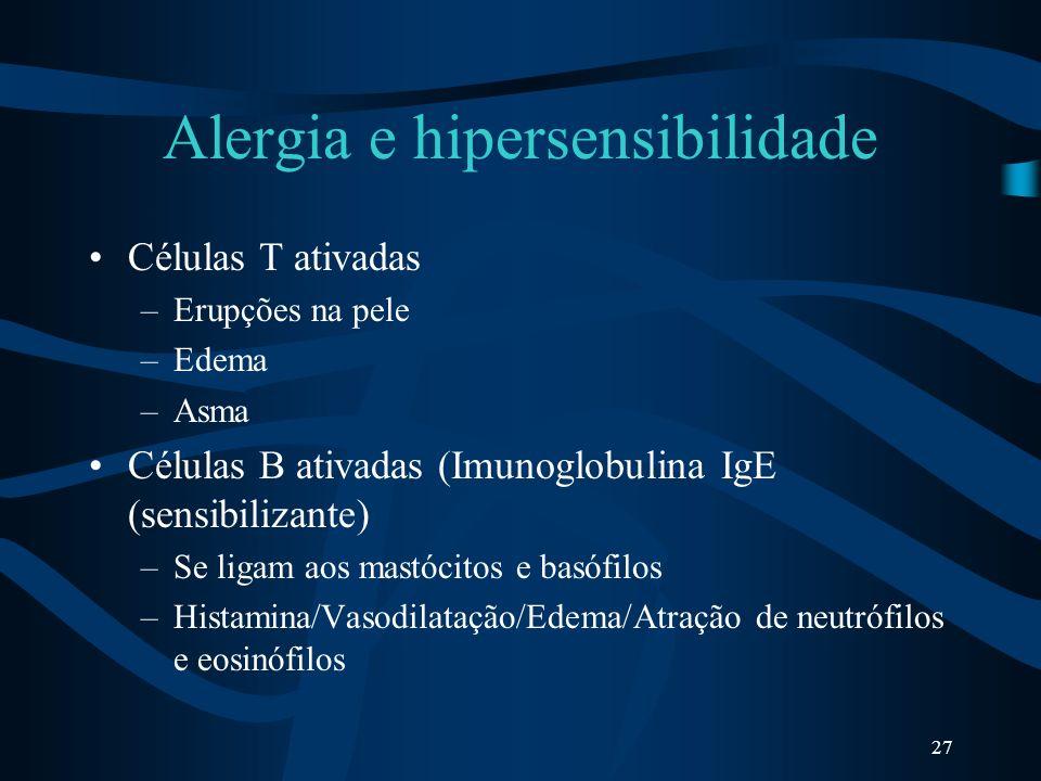 Alergia e hipersensibilidade