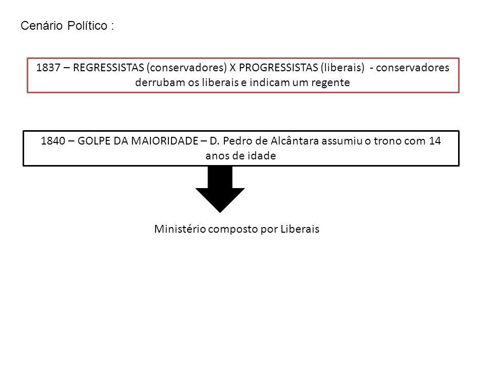 Ministério composto por Liberais