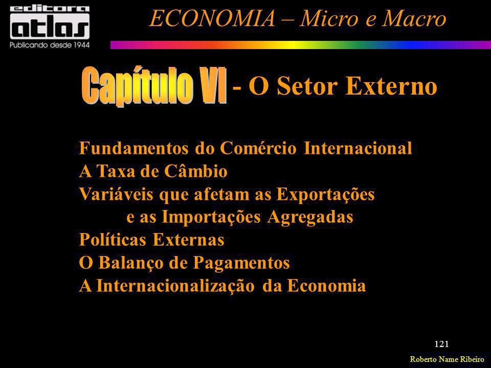 Capítulo VI - O Setor Externo Fundamentos do Comércio Internacional