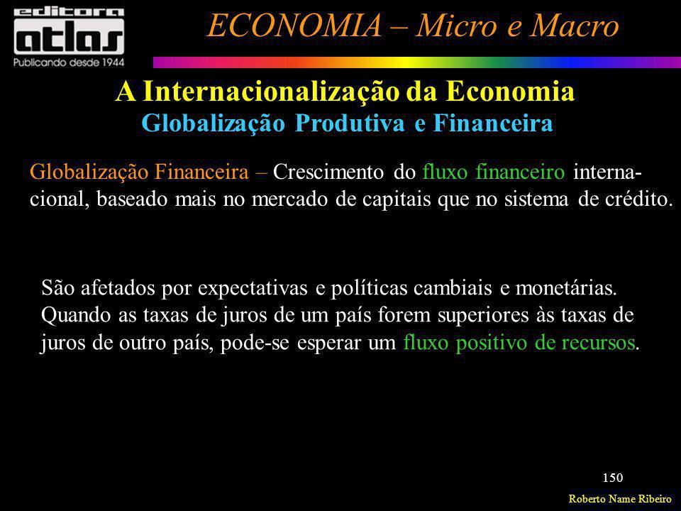 A Internacionalização da Economia