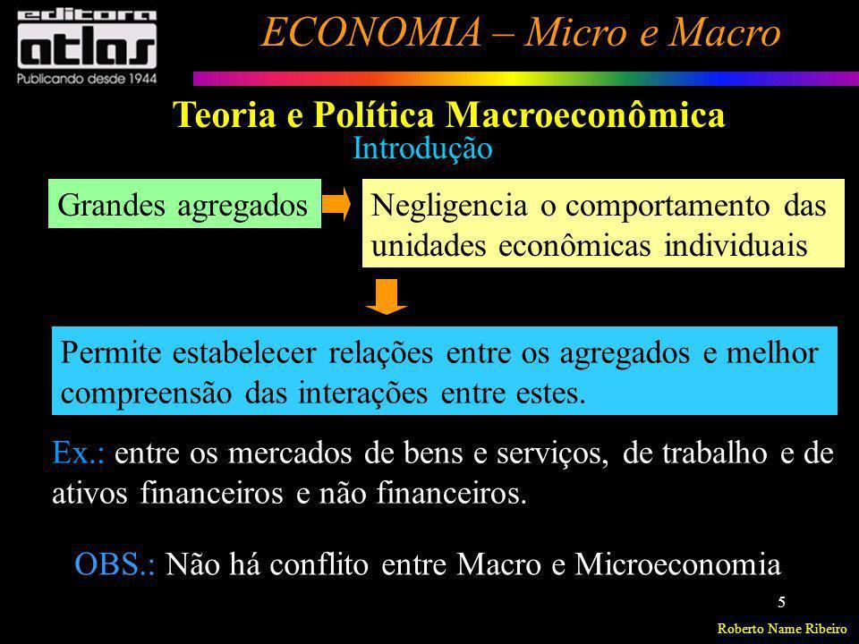 Teoria e Política Macroeconômica