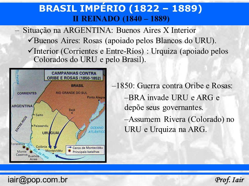 Situação na ARGENTINA: Buenos Aires X Interior