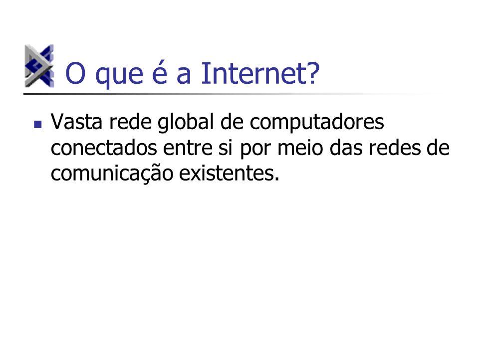 O que é a Internet.