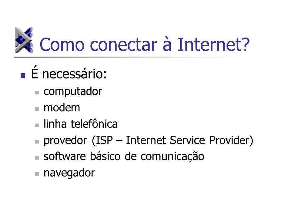 Como conectar à Internet