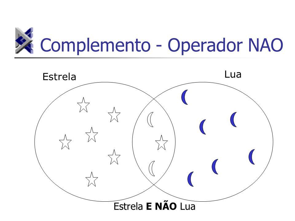 Complemento - Operador NAO