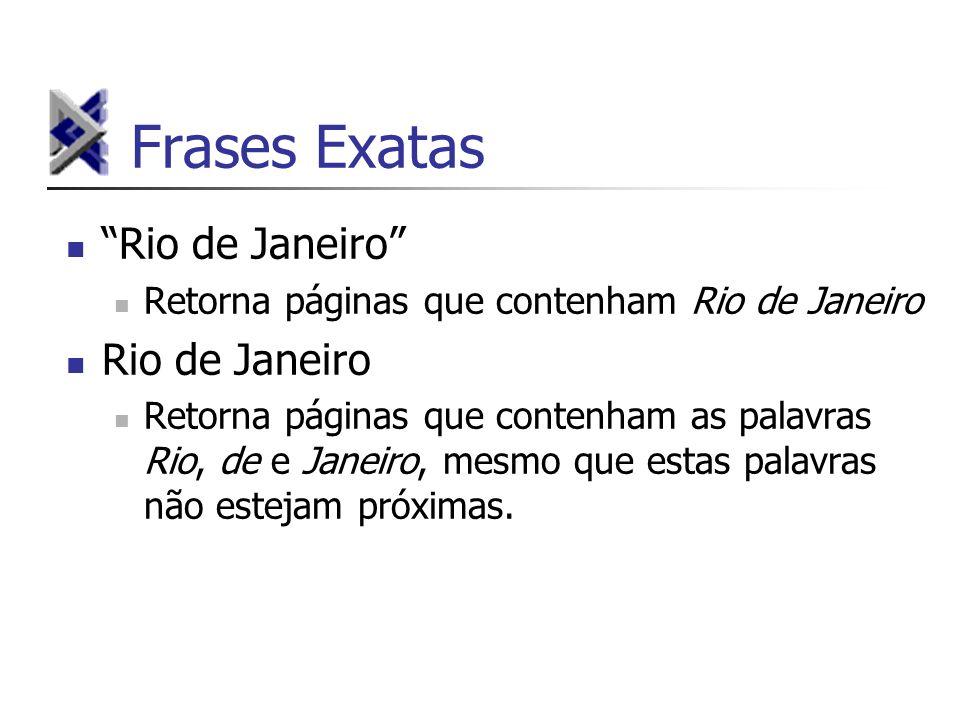 Frases Exatas Rio de Janeiro Rio de Janeiro