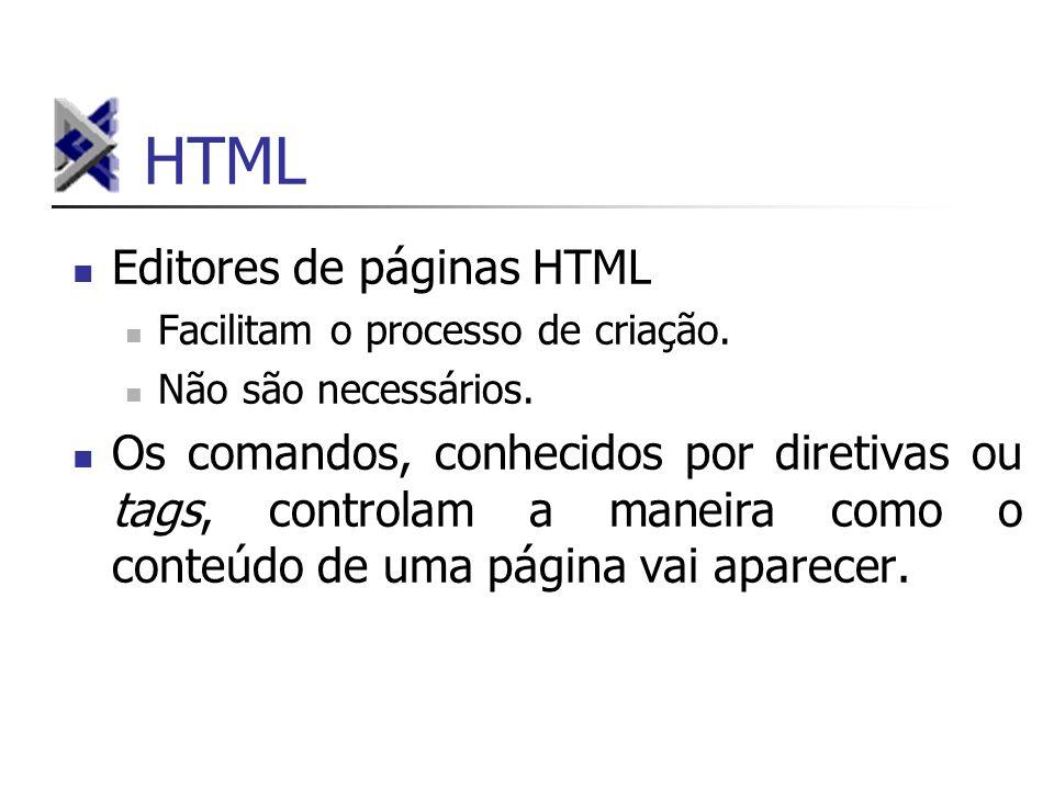 HTML Editores de páginas HTML