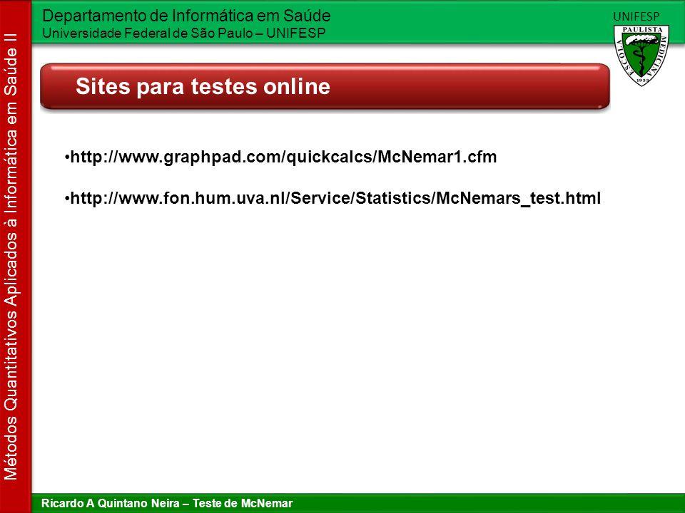 Sites para testes online