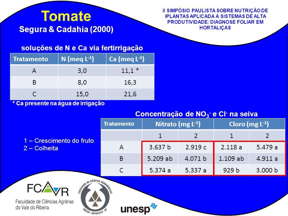 Tomate Segura & Cadahia (2000)