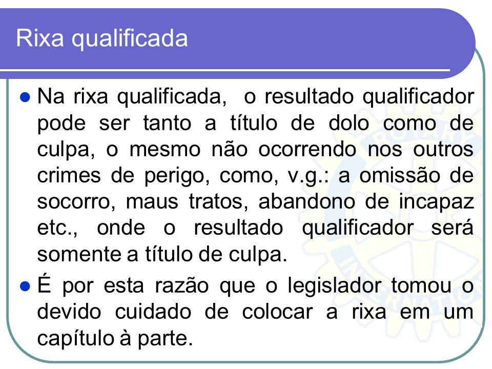 Rixa qualificada