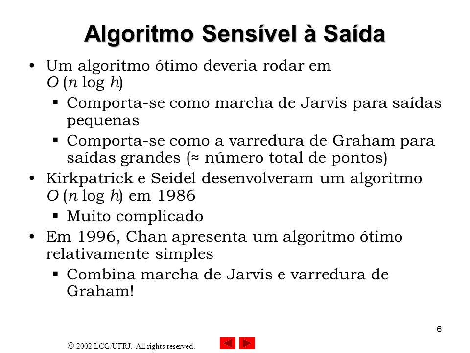Algoritmo Sensível à Saída