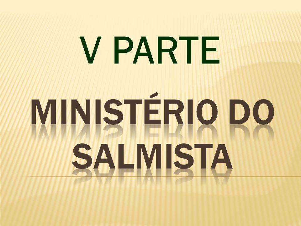 MINISTÉRIO DO SALMISTA