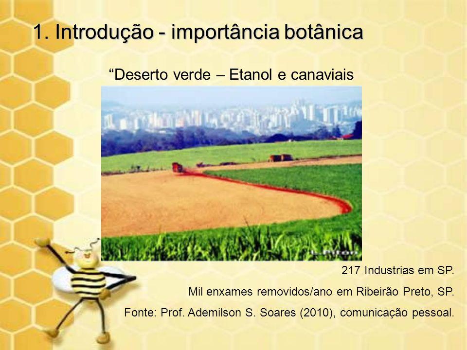 1. Introdução - importância botânica