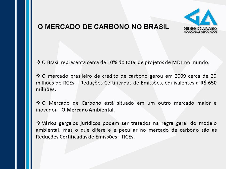 O MERCADO DE CARBONO NO BRASIL