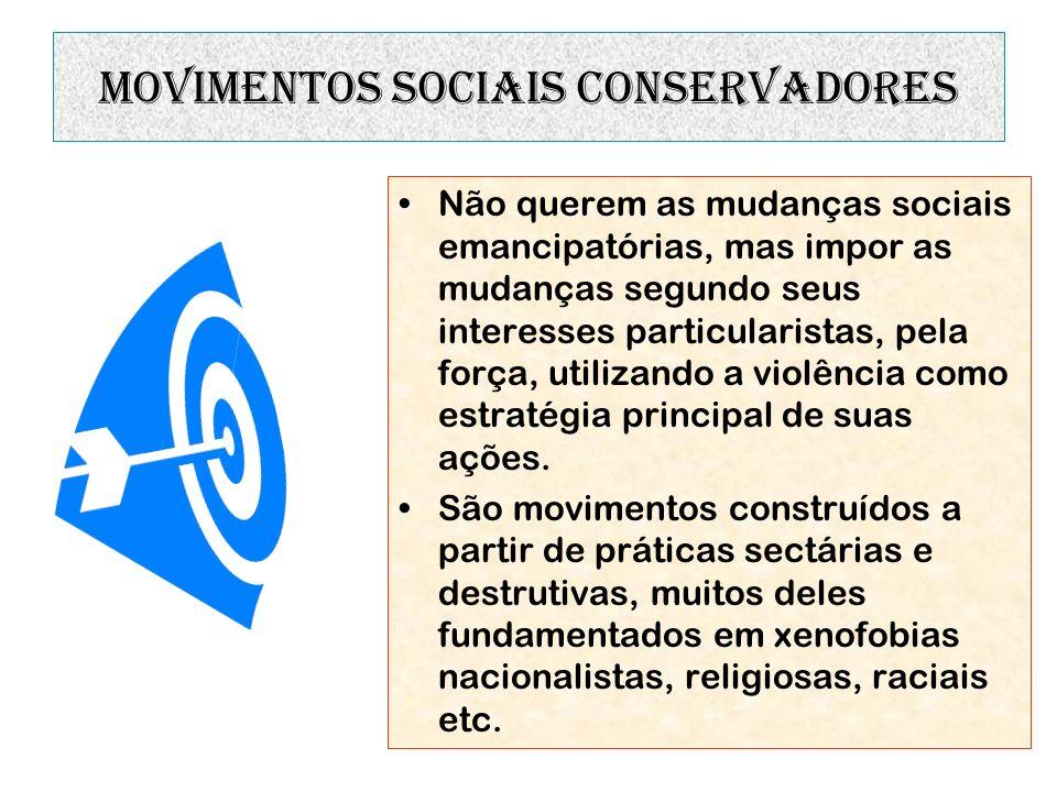 movimentos sociais conservadores