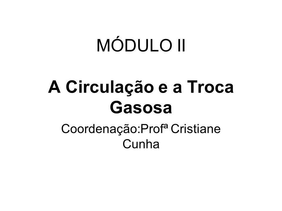 MÓDULO II A Circulação e a Troca Gasosa
