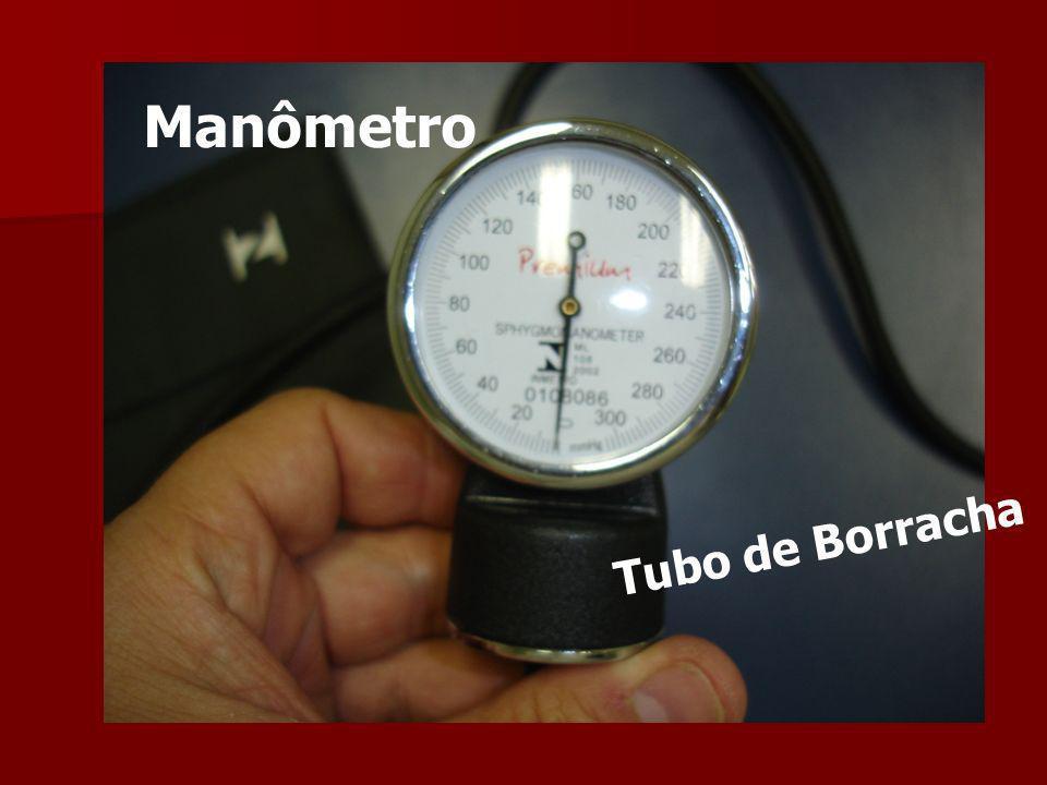 Manômetro Tubo de Borracha
