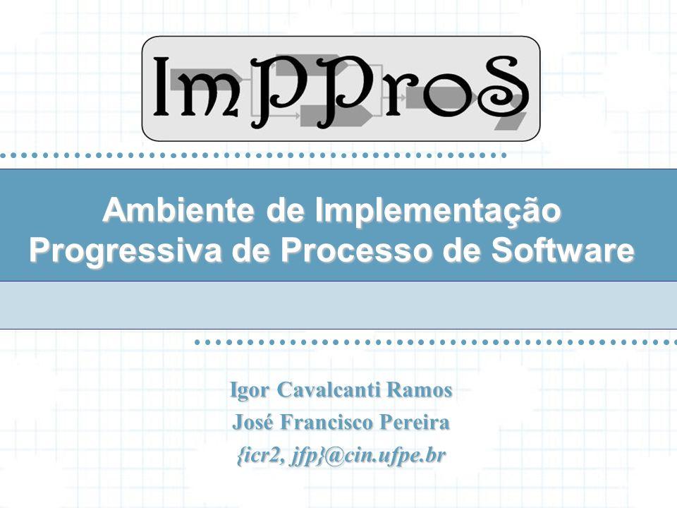 Igor Cavalcanti Ramos José Francisco Pereira {icr2, jfp}@cin.ufpe.br