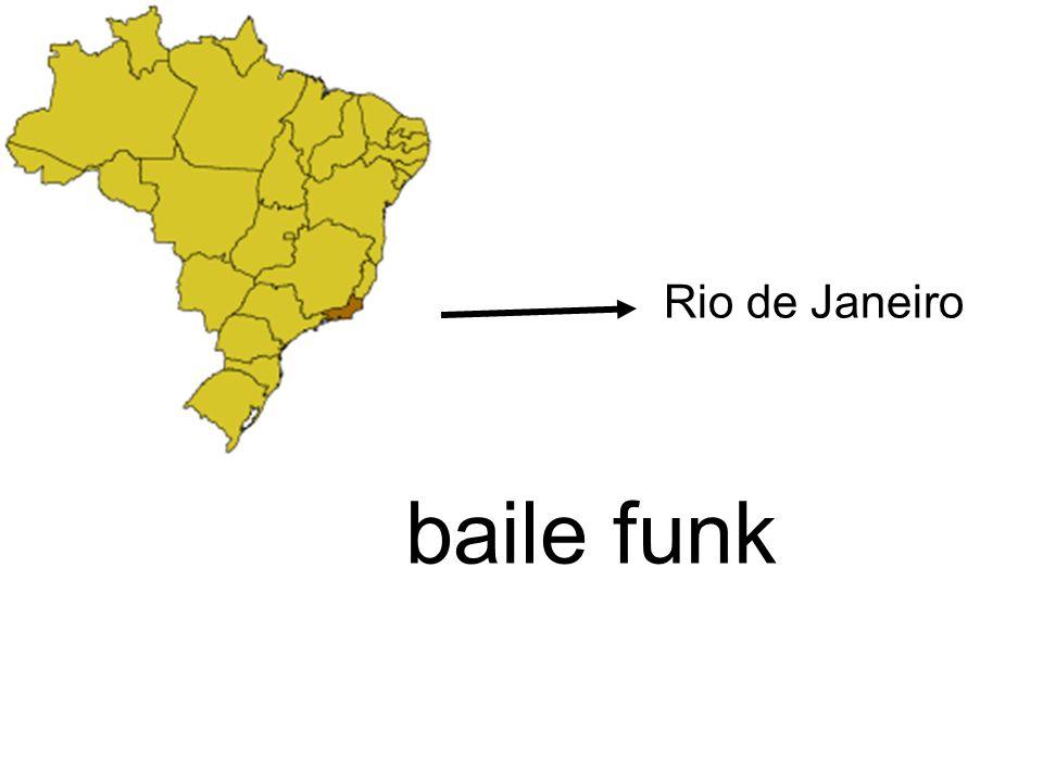 Rio de Janeiro baile funk