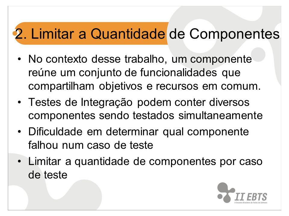 2. Limitar a Quantidade de Componentes